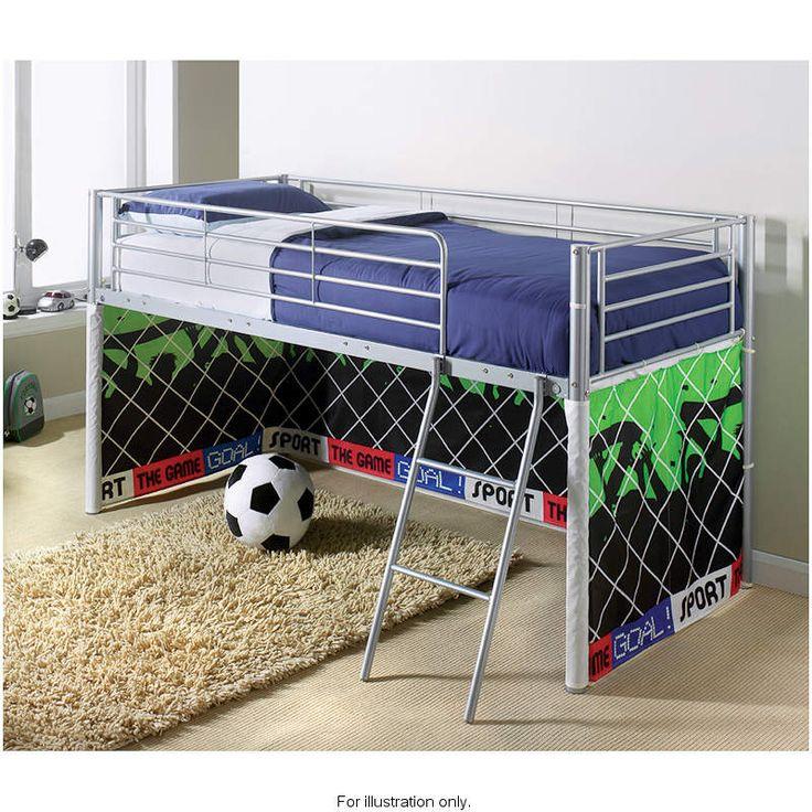 Kids Midsleeper Bed Football B Amp M Wish List Pinterest