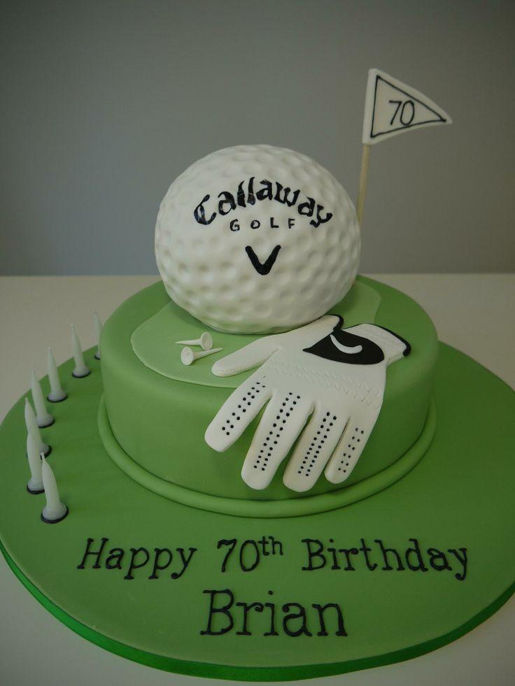 golf cakes  Adult Birthdays / Themed  Sports cakes  Pinterest