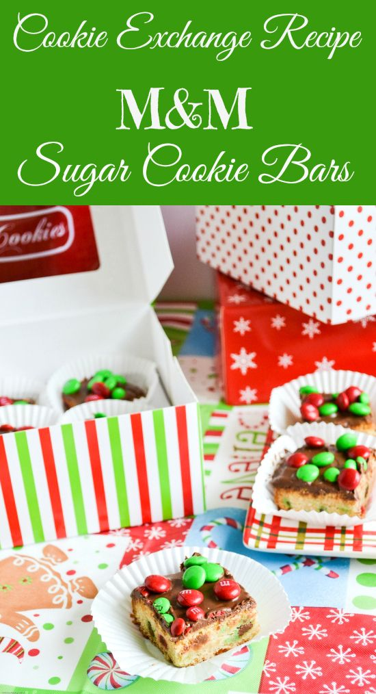 Sugar Cookie Bars are perfect for a cookie exchange or any ...