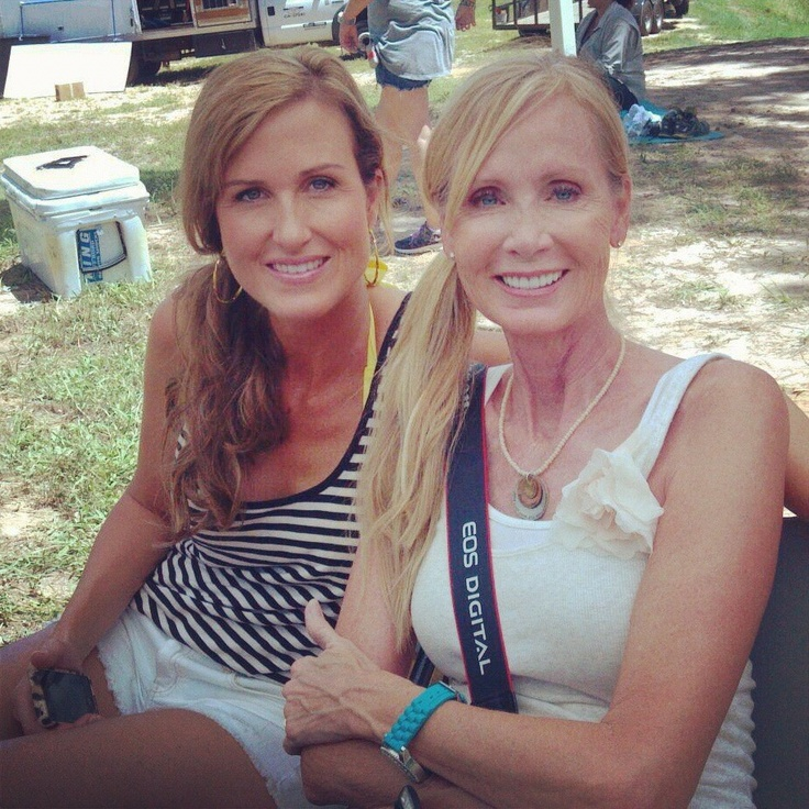 Korie Robertson and Her Mom