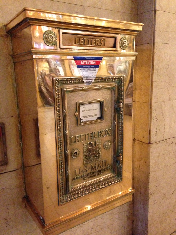 Old Mailbox in Grand Central Station