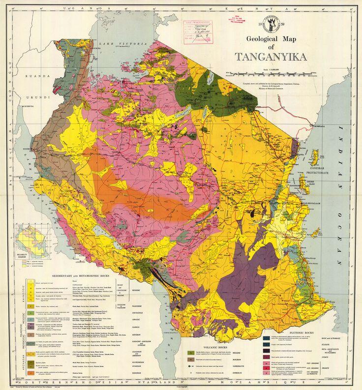 tanganyika rebellion | Map Of Tanganyika | I love maps | Pinterest