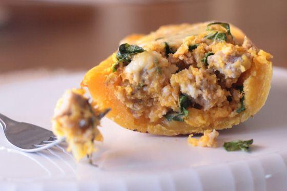 Twice Baked Butternut Squash | Recipes | Pinterest
