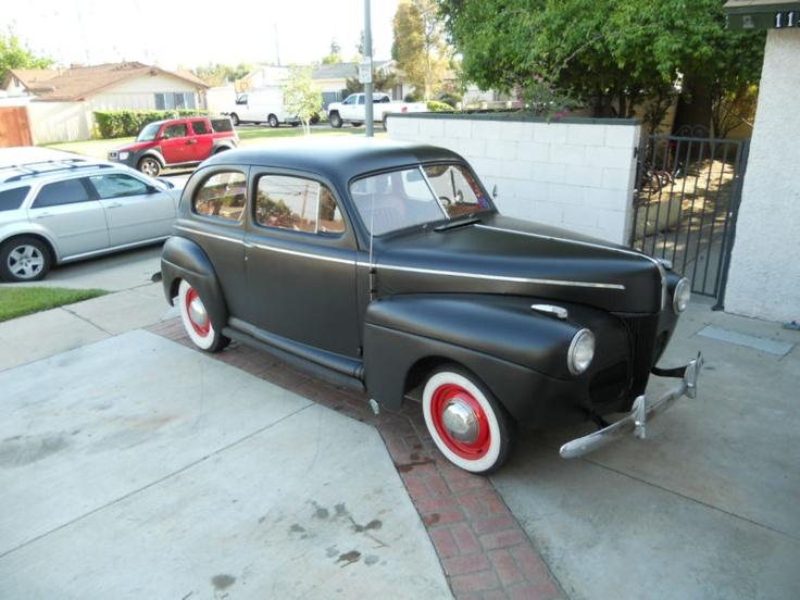 1941 ford 2 door sedan cars pinterest for 1941 ford 2 door sedan