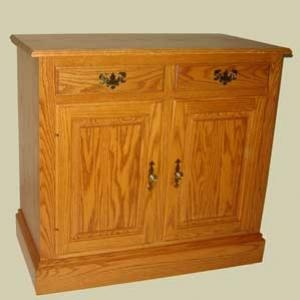 """Sideboard Cabinets – 37"""" wide Heritage Colonial Sideboard Cabinet ..."""