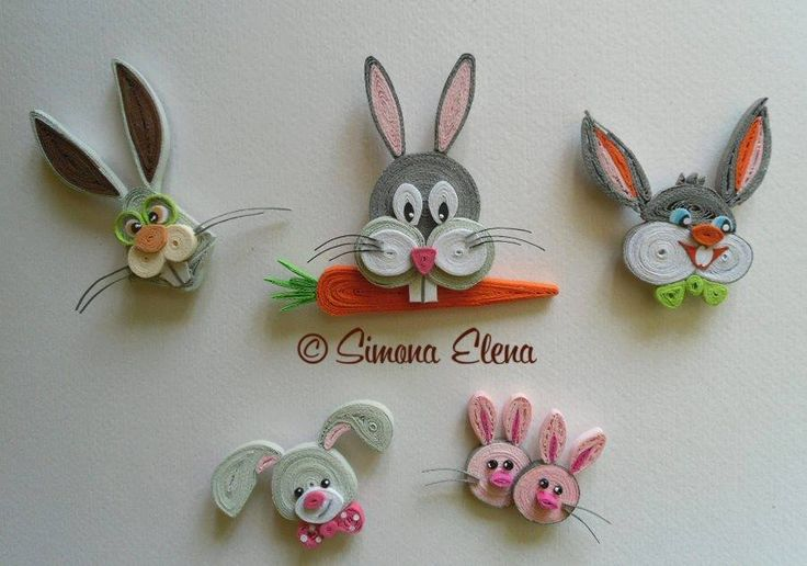 Paper Quilling Bunny
