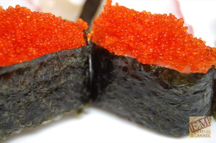 Tobiko/flying fish roe! | Savoury | Pinterest