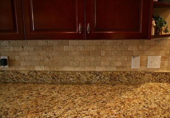 Travertine - light brown granite | Kitchen | Pinterest