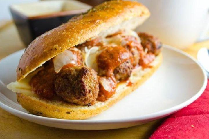 Meatball Sandwich | Recipes | Pinterest