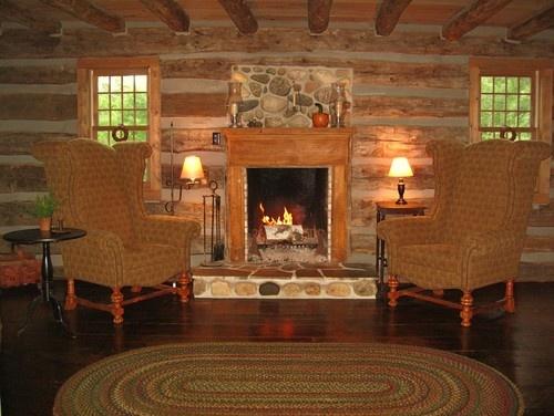 Cabin Fireplace Design Ideas Pinterest