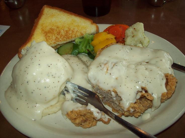 Café Java in Round Rock, Texas chicken fried steak....one of the best ...