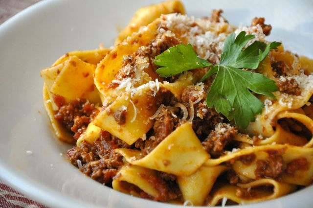 Pappardelle alla Bolognese | Recipes - Pasta Dishes | Pinterest