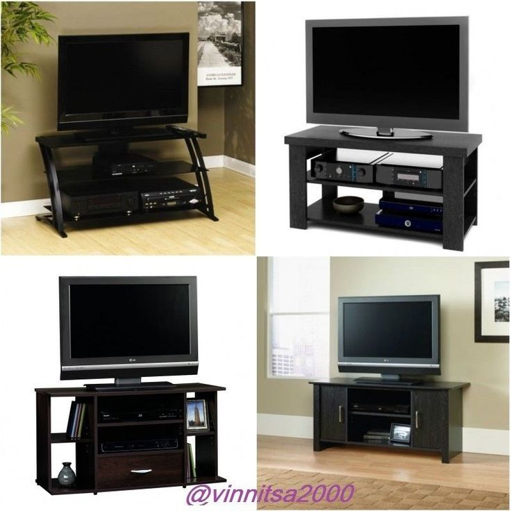 TV Stand Shelves LED Storage Furniture Sale Console Entertainment The ...