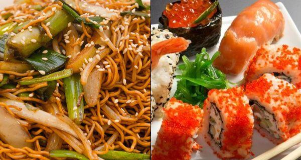 Chinese vs japanese food pinterest for Cuisine vs food
