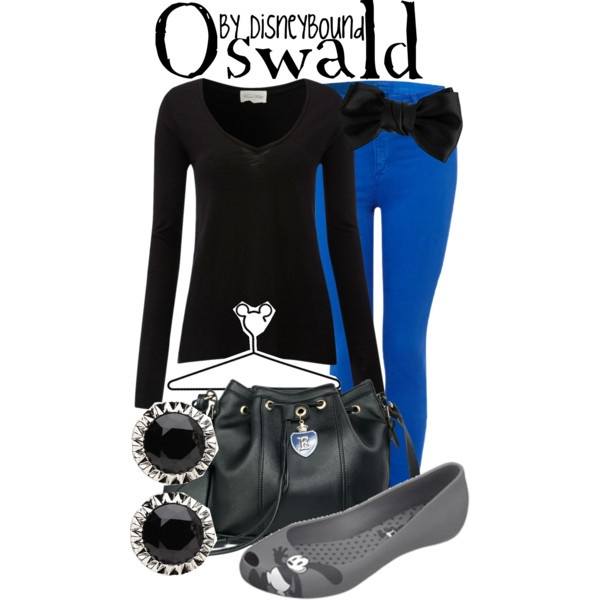 """Oswald"" by lalakay on Polyvore #disney"
