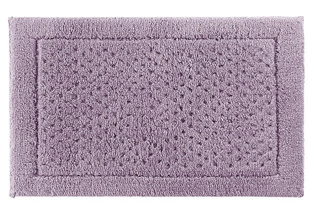 Lilac bathroom rugs - Sublime Bath Rug Lavender Frost