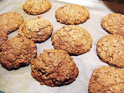 Baked Oatmeal Cookies with Cardamom. (The original recipe calls for ...