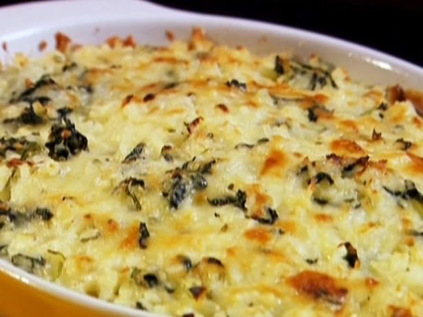 Cheesy Spinach Rice Bake   Food   Pinterest