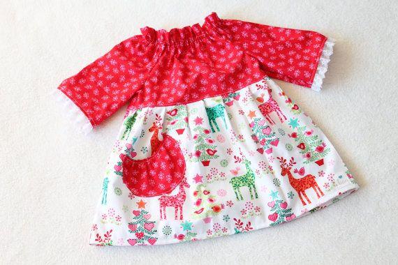 Christmas ella dress and tunic size 2 3 ready to ship babies tod