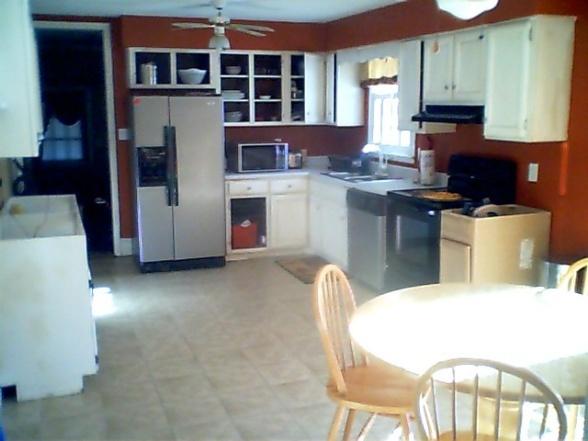 Burnt Orange kitchen  Home stuff  Pinterest