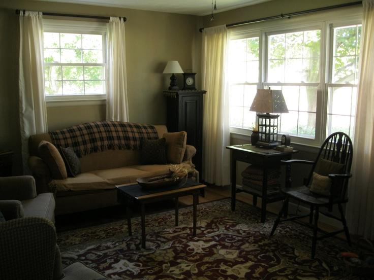 Cute Primitive Living Room Primitive Ideas Pinterest
