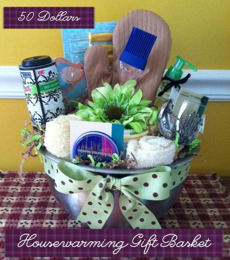 housewarming gift basket gifts pinterest. Black Bedroom Furniture Sets. Home Design Ideas