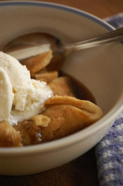 Old Fashioned Apple Dumplings | Home Sweet & Savory Home | Pinterest