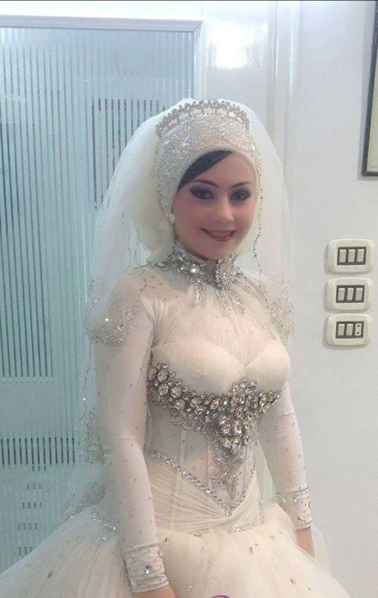 Muslim Wedding Dresses For Bride In : Muslim brides