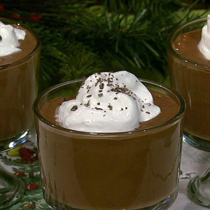 the chew | Recipe | Geoffrey Zakarian's Deep Dark Chocolate Pudding