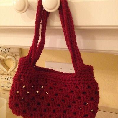 Crochet Purse For Girls : Girls crocheted purse Crafty Crochet Creations Pinterest