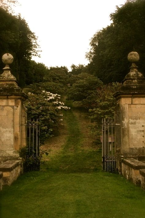 bucolic pasture gate... Castle Howard