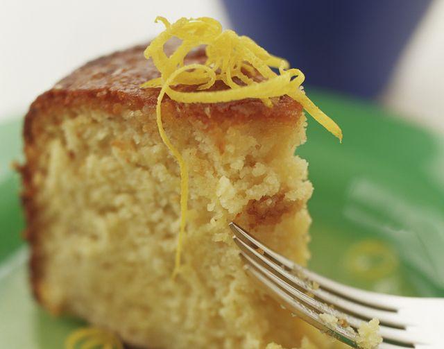 Sour Cream Lemon Cake   Cake   Pinterest