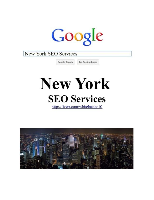 seo nyc services