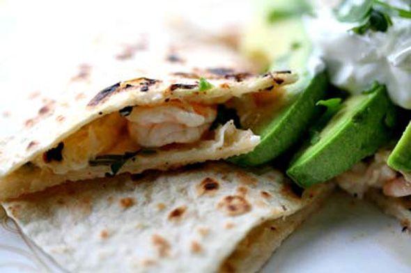 ... :OLD BAY® 30% Less Sodium Seasoning Southwestern Shrimp Quesadillas