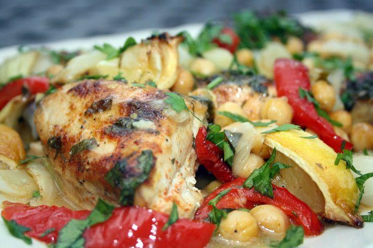 Moroccan Roast Chicken | Moroccan Food Recipes | Pinterest