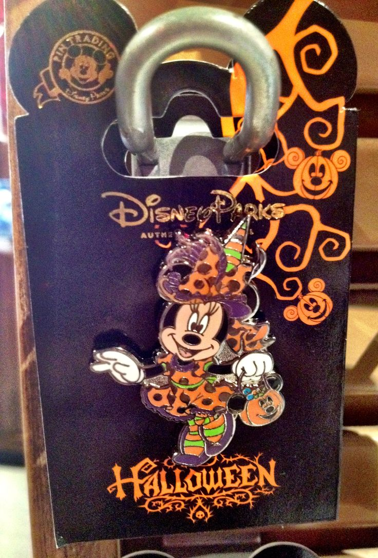 2012 Halloween Pin - Trick or Treat Minnie