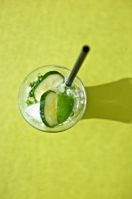 mint basil cucumber amp lime fizz not without salt