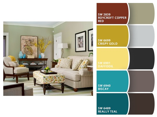 bedroom color palettes