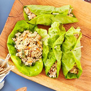 Spicy Tofu Lettuce Wraps From Better Homes and Gardens, ideas and ...