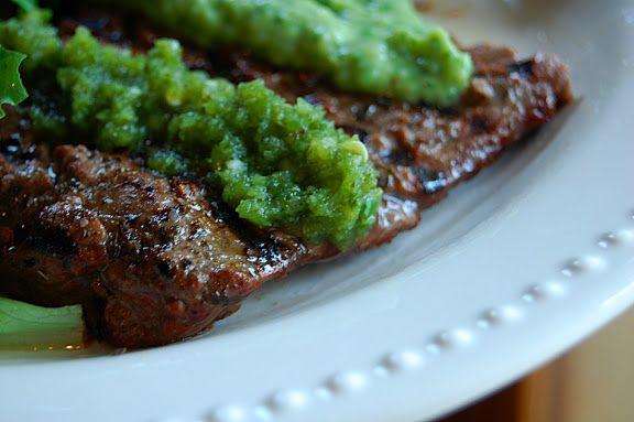 Savory Spicy Sweet: Beer-Marinated Flank Steak