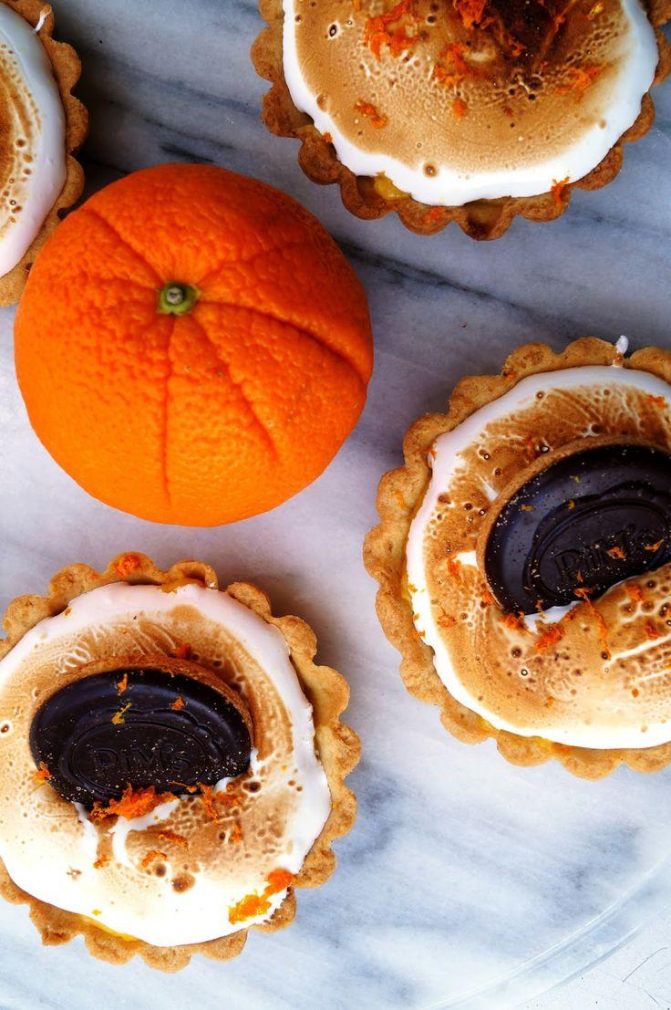 Pumpkin Meringue Tartelettes Recipe — Dishmaps