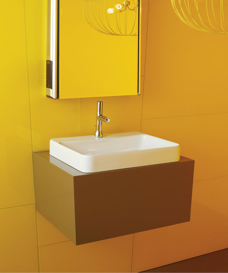 Kohler Vox Sink : Sleek and contemporary, the Vox Rectangle vessel-style sink features a ...