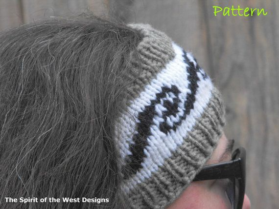 Knitting Pattern - Nanuq Ear Warmer, Headband for Teens and Adults, K?