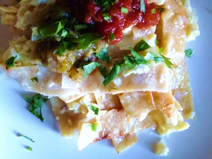 Migas adapted from The Homesick Texan | Breakfast recipes | Pinterest