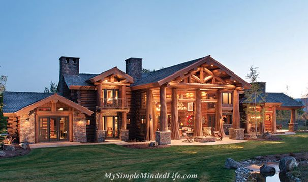 Amazing Log Cabins Log Cabin A Cabin In The