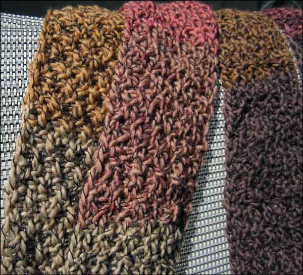 Knitting Stitches Double Seed : loom knit double seed stitch scarf Loom Weaving/crochet/knitting