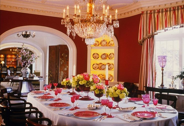 Bunny Williams Beautiful Dining Room Interiors Pinterest