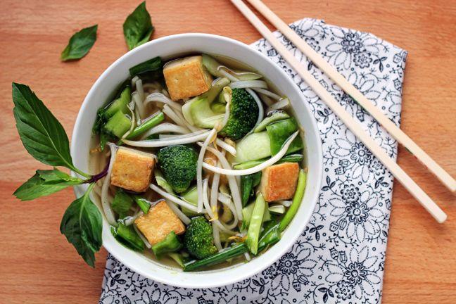 Tofu Pho (Vietnamese Noodle Soup) #glutenfree #antiinflammatory # ...