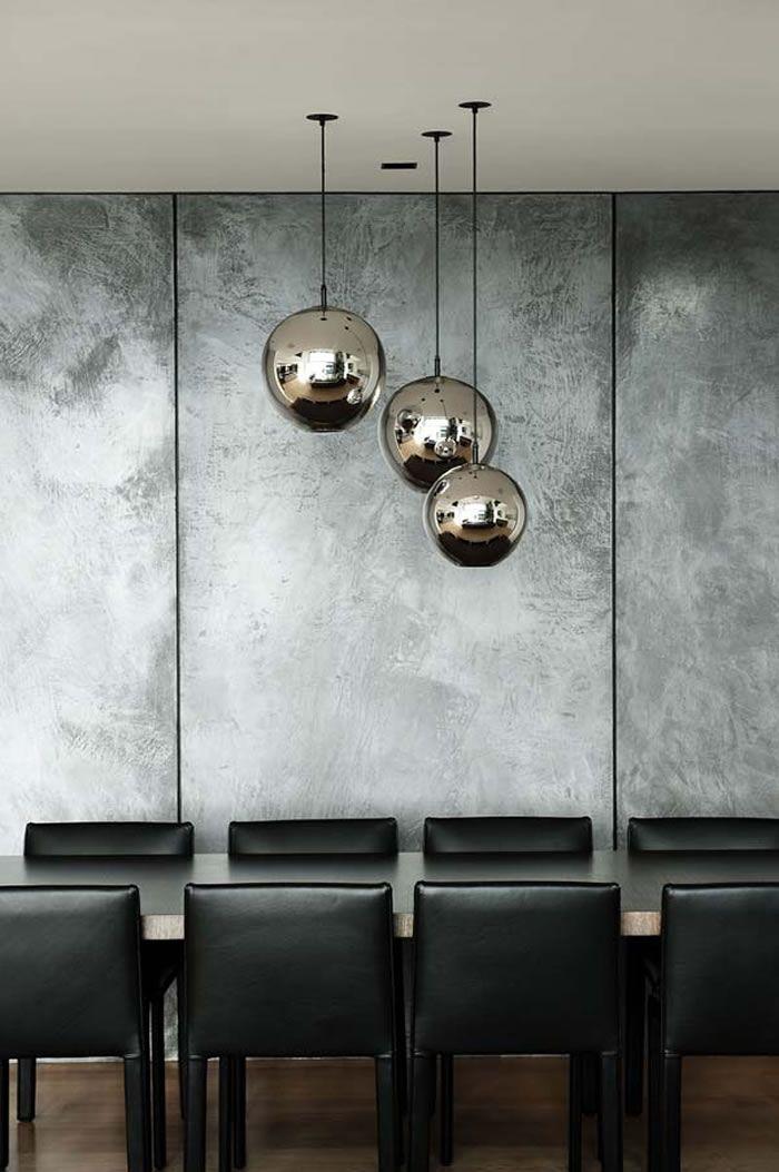 Polished Concrete on walls - amazing!