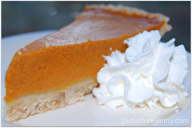 Gluten Free Pumpkin Pie | Gluten Free | Pinterest